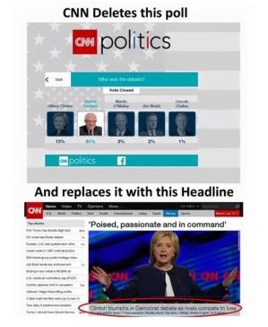 bernie cnn poll